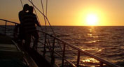 Aphrodite Segel boot Sunset Cruise